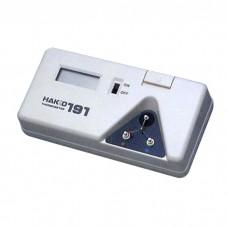 HAKKO 191 Tip Thermometer Solder Iron Tip Digital Tester with 10 Sensors