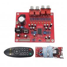 LC75342 Remote Volume Ajustable Preamplifier Board