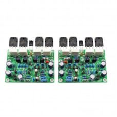 LJM-Audio Hi-end MX50X2 Audio Stero Power Amplifier Board Base on X-A50  (Assembled Amp board,include 2 bobards)