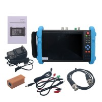 """IPC9800Plus ADHS 7"""" IP CCTV Tester Monitor IP Camera Tester H.265 4K Video Testing Support ONVIF Wifi POE Android System"""