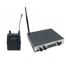 MS-305 IEM300 Stage Professional UHF Wireless In-Ear Headphones Monitor System Transmitter Receiver