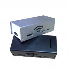 Black/Silver Aluminum Protector Enclosure Shell Case cover For Raspberry pi zero w