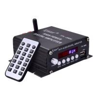 Kinter TA-2024 USB/MP3 HiFi Audio AUX Bluetooth Class-D Digital Amplifier 2x 20W