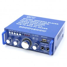 30W+30W Digital Audio Power Amplifier MP3 Player HiFi Stereo USB SD DVD PC Tuner