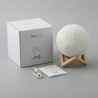 3D USB LED Moon Magical Moon Night Light Moonlight Table Desk Moon Lamp Home Decor