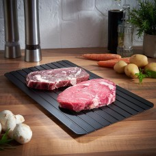 Magic Fast Metal Thawing Plate Defrosting Tray Defrost Meat for Cooking