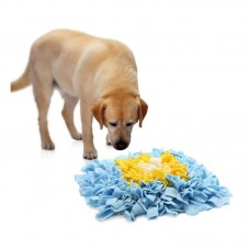 Pet Dog Mat Soft Sniffing Mat Pads Leakage Food Exercise for Intellect Toy