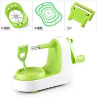 Plastic Manual Fruit Peeler Kitchen Tool Fruit Apple Peeler Green Peeling Machine