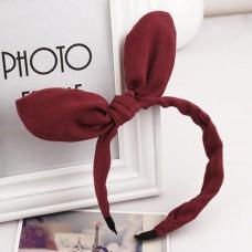Fashion Rabbit Ear Soft Towel Hair Band Wrap Headband for Bath Spa Make Up