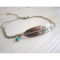 Vintage Foot Chain Leaf Anklets Hollow Barefoot Beach Jewelry Double Layered Anklet Women