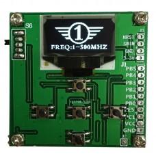 Oled Digital Display RF Power Meter 1-500Mhz -65-+15dBm Attenuation Value RF-Power500