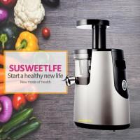 SUSBF11 Slow Juicer Extractor Fruit Vegetable Citrus Juice Extractor Mill 220V