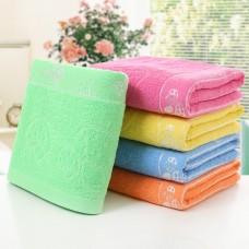 Cotton Mushroom Print Towels Soft Absorbent Bath Sheet Hand Bathroom Washcloth 70x140cm