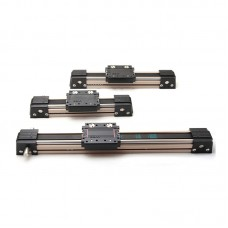 CCMW45A 1M Length Timing Belt Linear Slide Linear Module Reciprocating Electric CNC Rail Table