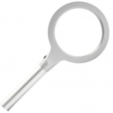 10X 20X Magnifying Glass Optical Lens HD Magnifier LED Light Handheld Reading Tool for Old