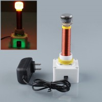 DC 12V Mini Tesla Coil Wireless Electric Power Transmission Lighting DIY Kit New