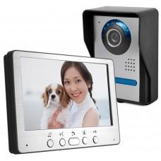 "HD 7"" TFT Color Video Door Phone Intercom Doorbell Home Security Camera Monitor Night Vision System"