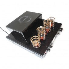 220V 2.0 Channel Lossless Power Amplifier Electron Tube Bluetooth Amplifier SV-1050B