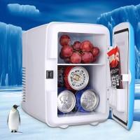 12V Car Small Refrigerator Mini Fridge Cooler/Warmer Mini Compact 4L Fridge