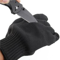 Stainless Steel Wire Safety Works Anti-Slash Stab Resistance Cut Proof Gloves