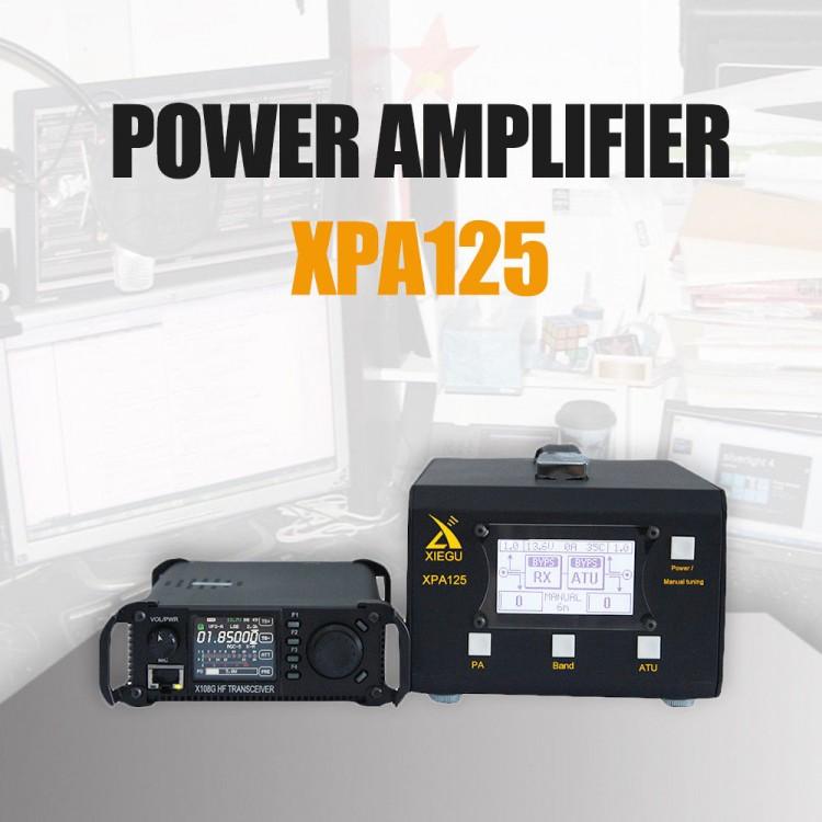 Xiegu XPA125 HF Ham Radio Power Amplifier 125W QRP ALC LC