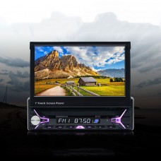 """7"""" Touch Screen Car Bluetooth Multimedia Player Foldable Smart Stereo FM Radio Reversing"""