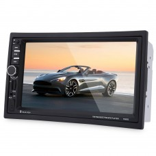 """7"""" 2Din Car Audio Stereo HD MP5 Player FM Remote Control GPS Navigation Function"""