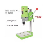 710W MINIQ BG-5156E Mini Electric Bench Drilling Machine Bench Drill Stand Home Tool