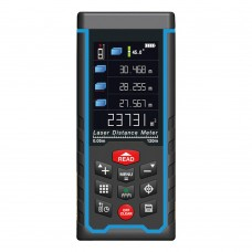 120M Laser Distance Meter Color Display Rechargeabe + W-TFT LCD Camera SW-S120