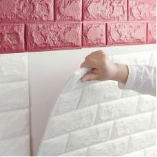 Wholesale 3D Brick Pattern Wallpaper Modern Wall Background TV Bedroom Decor