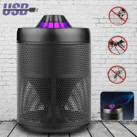 LED UV Mosquito Killer Trap Light Insect Zapper Controller Catcher W/ USB Cable