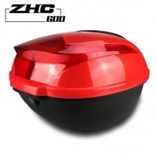 Hard Case ABS Motorcycle Luggage Storage Box Moto Toolbox Helmet Electric Motorcar Tail Bags
