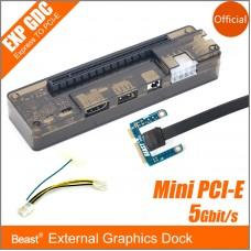 Laptop Independent Mini PCI-E External Graphics Dock 5Gbit/s
