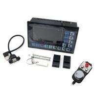 CNC 3-Axis Motion Controller Motor Driver 500KHz DDCSV2.1 + 4-Axis MPG Pendant Handwheel & Emergency Stop