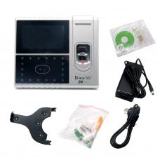 ZKTeck Iface502 Fingerprint Face Reader Access Attendance time Clock Software Biometric Identification