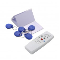 Handheld 125Khz RFID ID Card Reader Copier Writer Duplicator with 5 Writable Cards 5 Keyfob