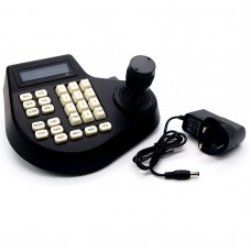 2 Axis Dimension Joystick Keyboard Controller LCD Display for PTZ CCTV Camera
