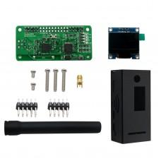 Antenna + Al Case + OLED + MMDVM hotspot Support P25 DMR YSF for Raspberry pi