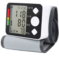 Digital Electronic Wrist Blood Pressure Monitor Sphygmomanometer Health Care