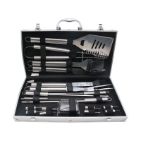 Grill Utensil Set 19PCS Stainless Steel BBQ Tools Outdoor Barbecue Cooking Case