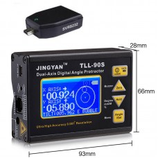 TLL-90S Protractor Inclinometer Laser level 0.005deg Accuracy + Bluetooth Dongle