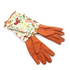 Long Sleeve Gardening Gloves Hands Protector for Pruning Yard Trimming