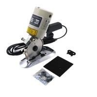 """Electric Cloth Cutter 3.5"""" Fabric Leather Cutting Machine Round Scissors + Blade"""