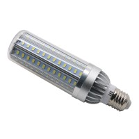 E27/26 Lights 5730 SMD LED Corn Bulb Lamp 6000K Candle Light 24-136Leds 25W