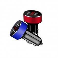 Car Charger 5V/2.1A Quick Charge Dual USB Port Cigarette Lighter Adapter Voltage