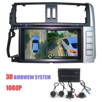 3D 1080P 360 Degree Around View Car Camera System DV360-3DB