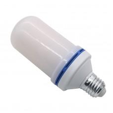 3 Modes LED Flame Effect Simulated Nature Fire Light Bulb E27 Decor Lamp