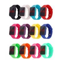 Fashion Child Kids Boy Watch LED Digital Bracelet Silicone Sports Wrist Watches