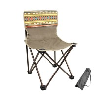 High Strength National Wind Folding Backrest Chair Outdoor Beach Camping Chair