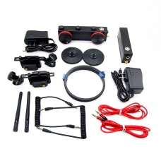 200m 2.4G Dual Channel Wireless Follow Focus Remote Control for SLR Camera
